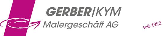 GERBER/KYM Malergeschäft AG Logo